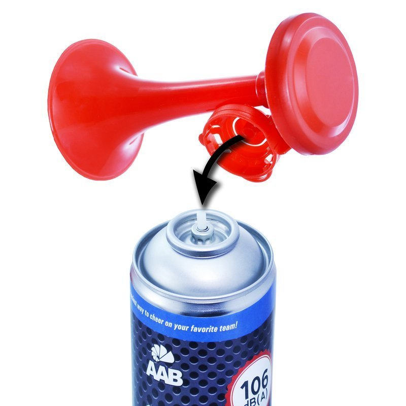 4 X HAND HELD AIR HORNS GAS PARTY SPORTS FOG HORN LOUD FOOTBALL EVENT GAME PARTY