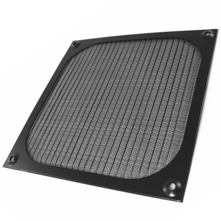 AAB Cooling Aluminum Filter / Grill 140 Black