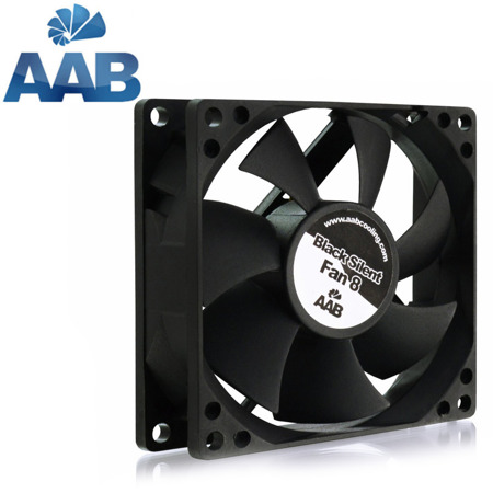 AAB Cooling Black Silent Fan 8