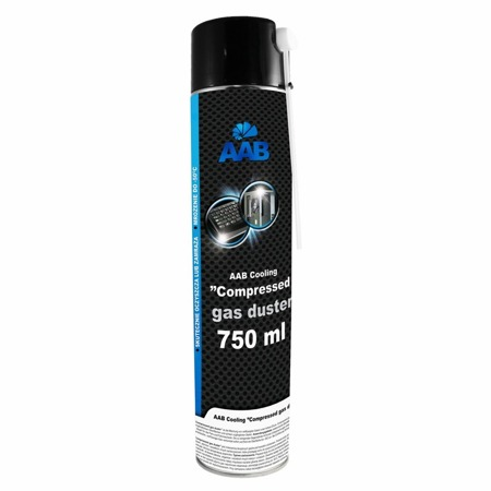 AAB Cooling Compressed Gas Duster - 750ml