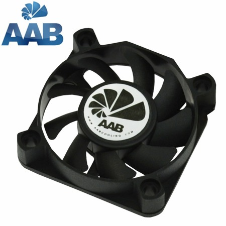 AAB Cooling Fan 5 is an economical fan, runs at a constant 3000 ± 10% rpm, noise 21 dB(A)