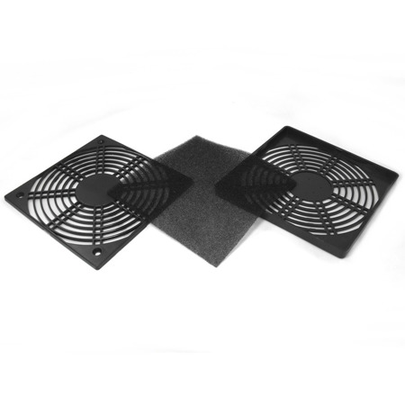 AABCOOLING Plastic Filter 140 Black