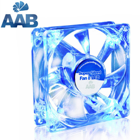 AABCOOLING Super Silent Fan 8 BLUE LED