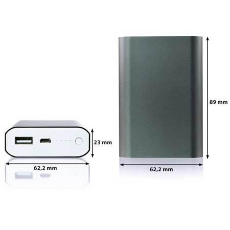 NonStop PowerBank Koddo Gray 6600mAh