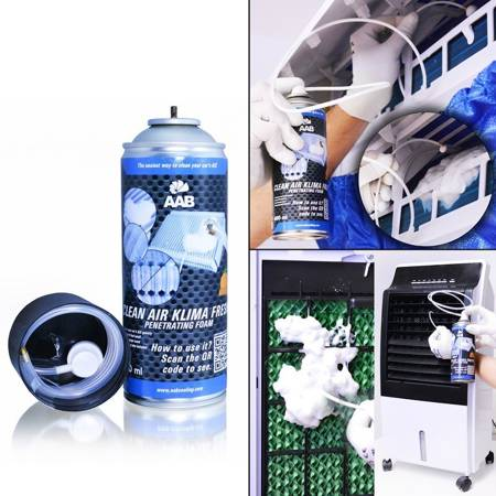 AAB CLEAN AIR KLIMA FRESH PENETRATING FOAM 400 ml