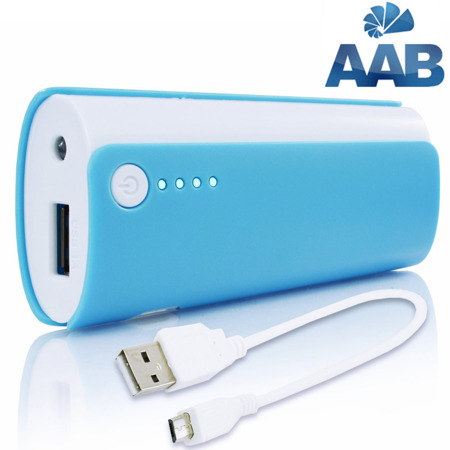 NonStop PowerBank Ammo Blau 4000mAh