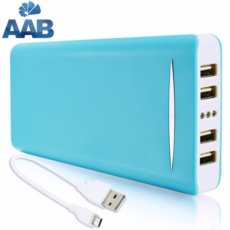 NonStop PowerBank Sella Blau 19200mAh