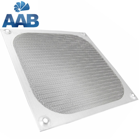 AAB Cooling Aluminiowy Filtr/Grill 80 Srebrny