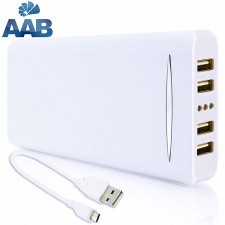 NonStop PowerBank Sella Biały 16000mAh